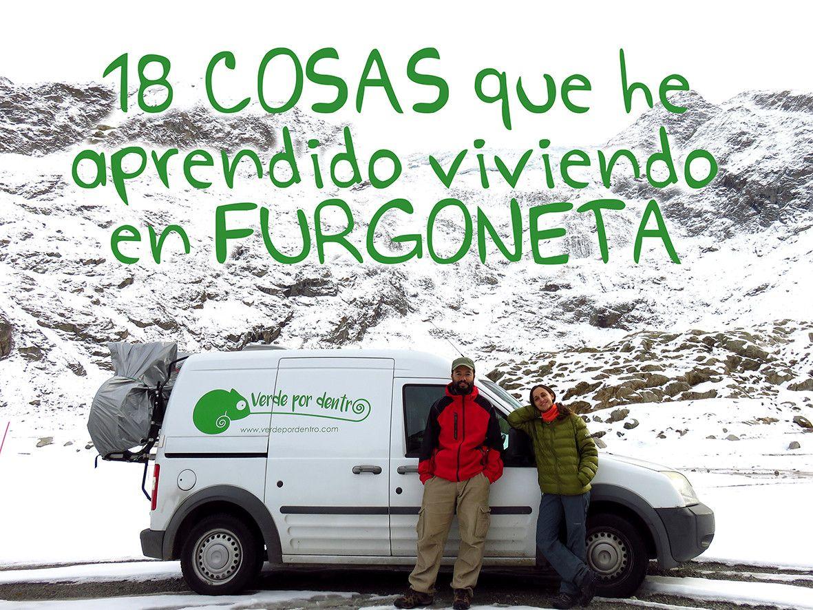 Blog Verde Por Dentro Furgoneta La Vida En Una Furgoneta