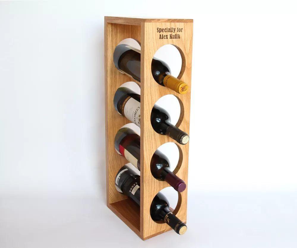 Подставка для бутылки вина своими руками фото 544