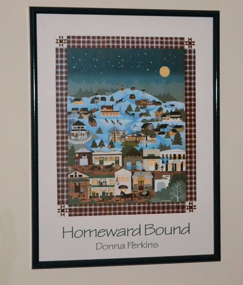 American folk art by donna perkins homeward bound 19 x 25 american folk art by donna perkins homeward bound 19 x 25 christmas jeuxipadfo Image collections