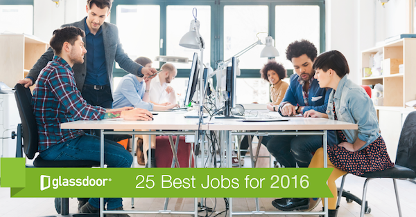 Whether you want a new job, or just want to make sure you already have a great job, Glassdoor has released its inaugural report highlighting the 25 Best Jobs in USA