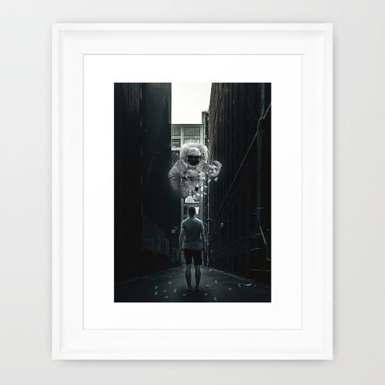 www.society6.com/seamless #art #society6 #wallart #homedecor #landscape #abstract #illustration #scifi #digital #collage
