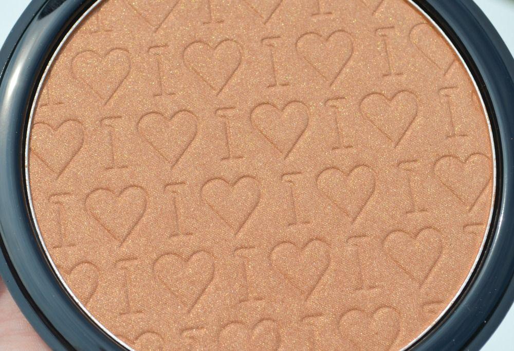 Makeup Revolution I ♡ Makeup Go Bronzer Chocolate Shimmer