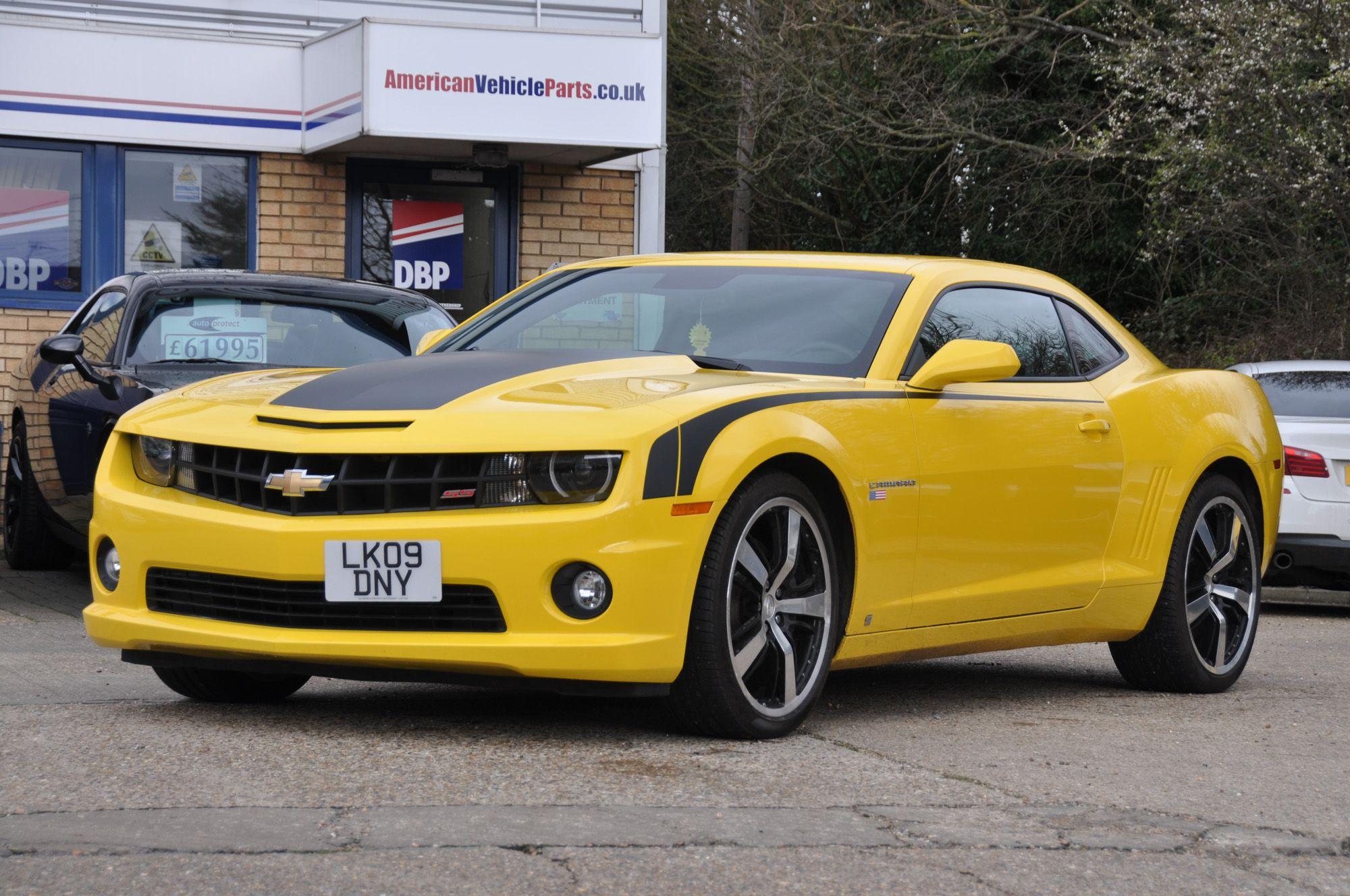 Chevrolet Camaro 2ss 6 2 Litre V8 Auto In Yellow Chevrolet