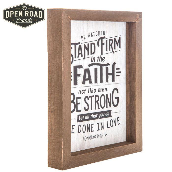 1 Corinthians 16:13-14 Wood Wall Decor | Hobby Lobby | Bible ...