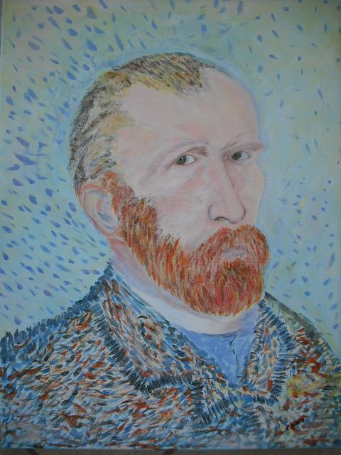 My impression of Van Gogh -Claire.....  ME KATHERYN HAHA LOVE IT!!!!