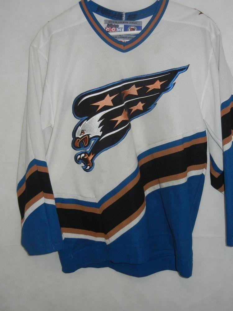capitals eagle jersey