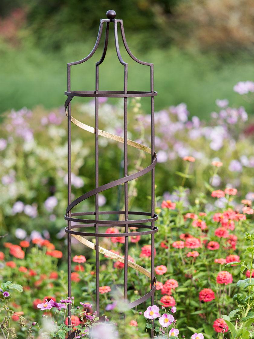 Nocturne Garden Obelisk 6 Gardener S Supply Garden Obelisk