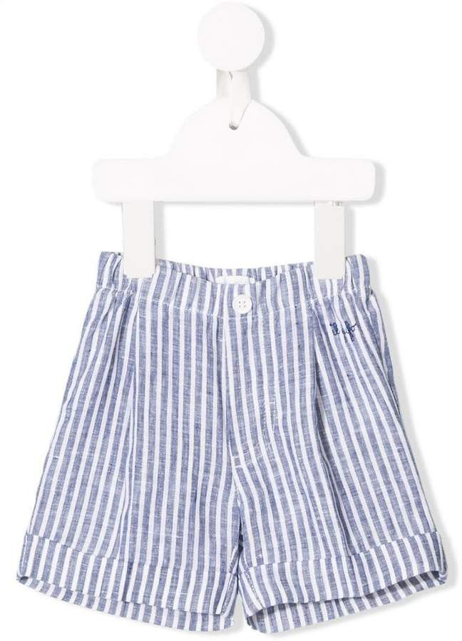 53e38ece8 Il Gufo striped seersucker shorts in 2019 | Products | Seersucker ...