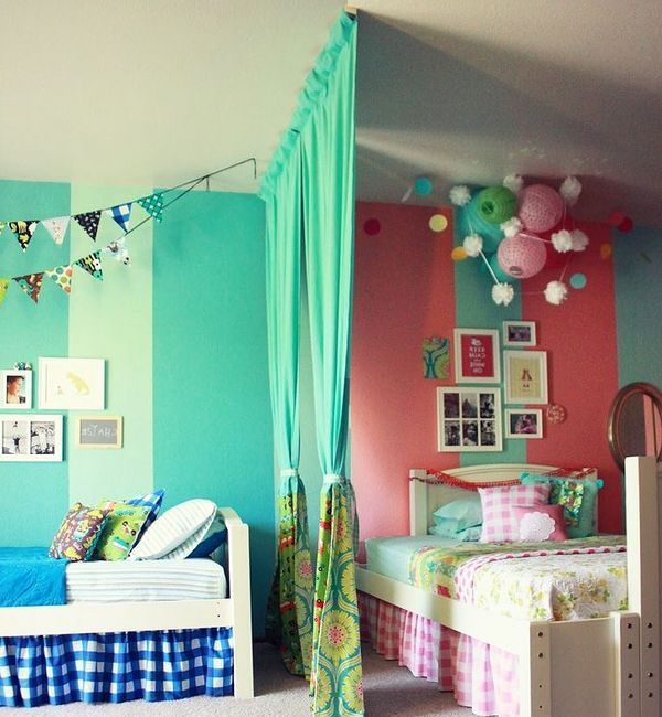 Girls Bedroom Ideas For Every Child: Children's Room Divider Ideas - Google Search