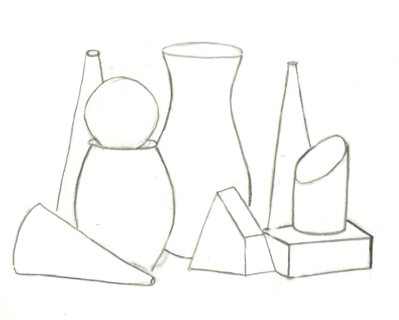Image Result For Still Life Contour With Images