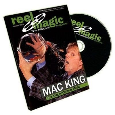 Reel #magic magazine - #episode 7 (mac #king) dvd,  View more on the LINK: http://www.zeppy.io/product/gb/2/201298357625/