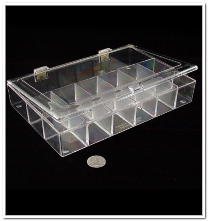 Clear Plastic Storage Containers Dividers Storage Pinterest