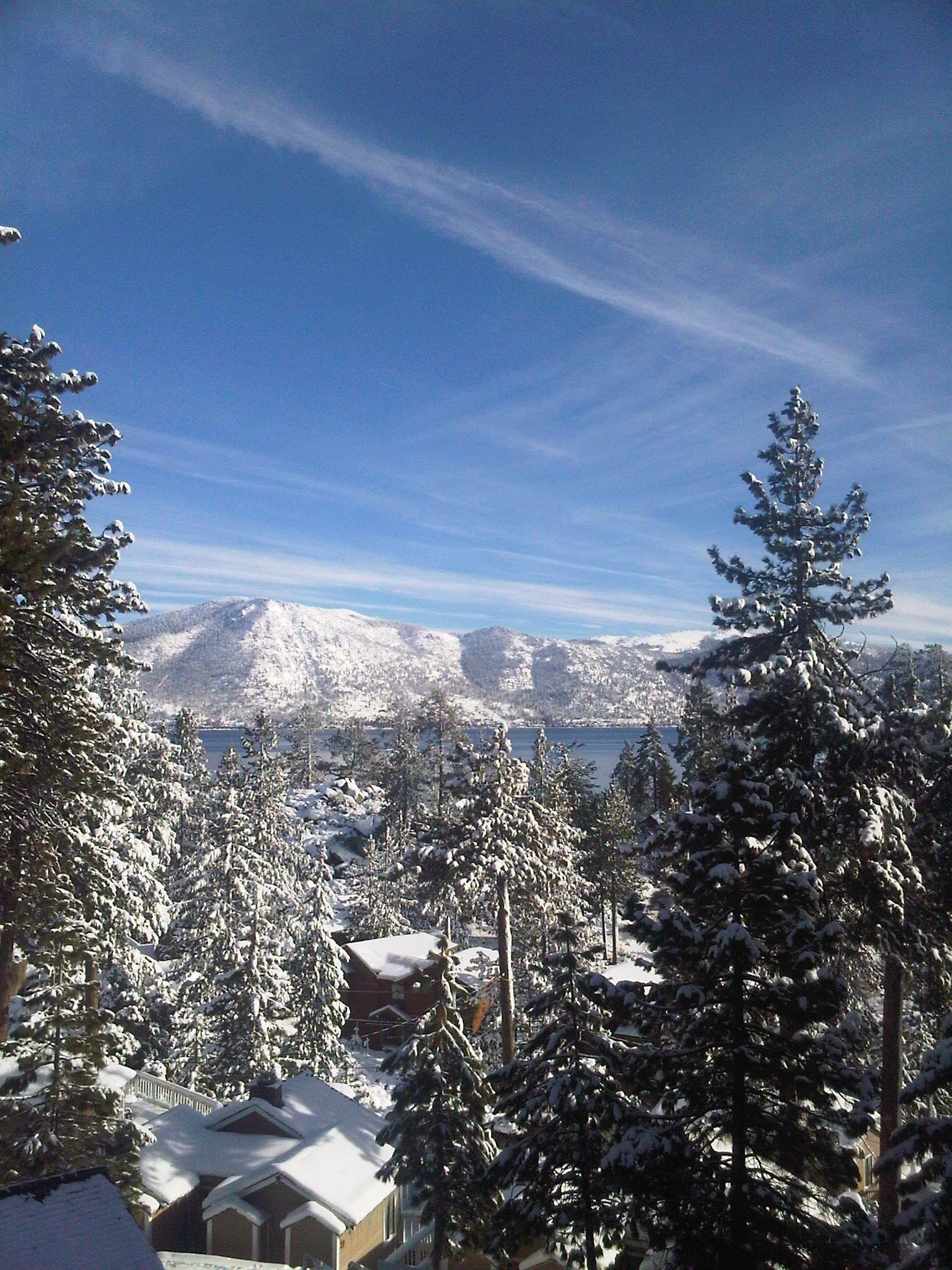 Lake Tahoe Winter Wallpaper Desktop Background: Favorite Places & Spaces
