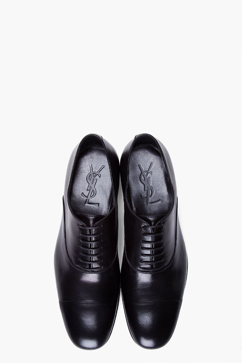 bba7f9d35d Need it, Black Smokey Dress Shoes #YSL | Unfashionable Men | Leather ...