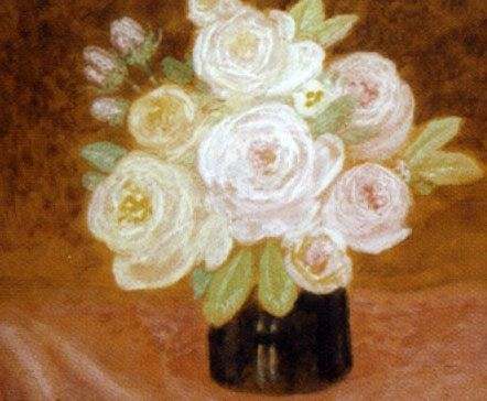 Vase de roses von Constant Montald