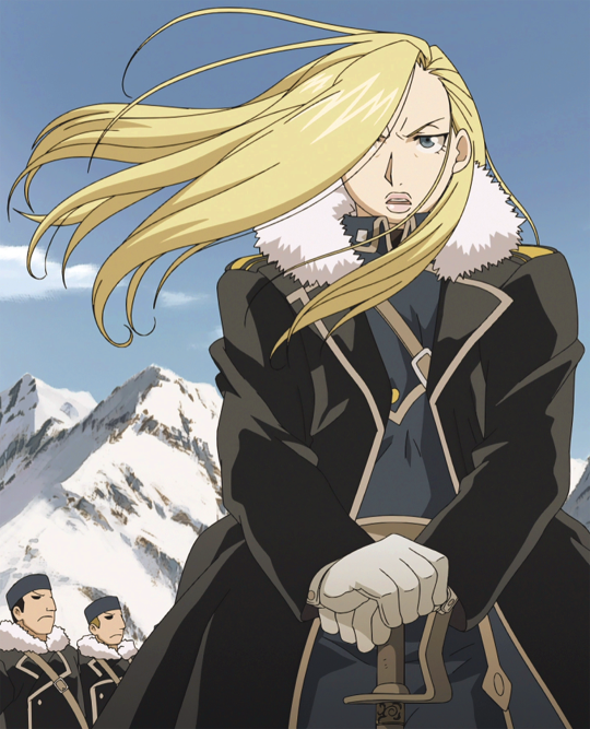 Olivier Mira Armstrong Fullmetal Alchemist Brotherhood Fullmetal Alchemist Full Metal Alchemist Art Olivier mira armstrong is the eldest daughter of the prestigious armstrong family of central city in amestris. olivier mira armstrong fullmetal