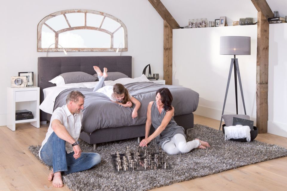 Slaapkamer Landelijk Boxspring : Boxspring sea exclusive #slaapkamer #landelijk #romantisch