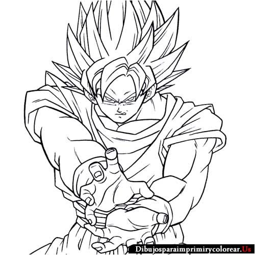 Charmant Dragon Ball Gt Malvorlagen Bilder - Framing Malvorlagen ...