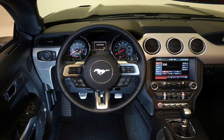 2018 Ford Mustang Shelby Gt350 Automatic Interior