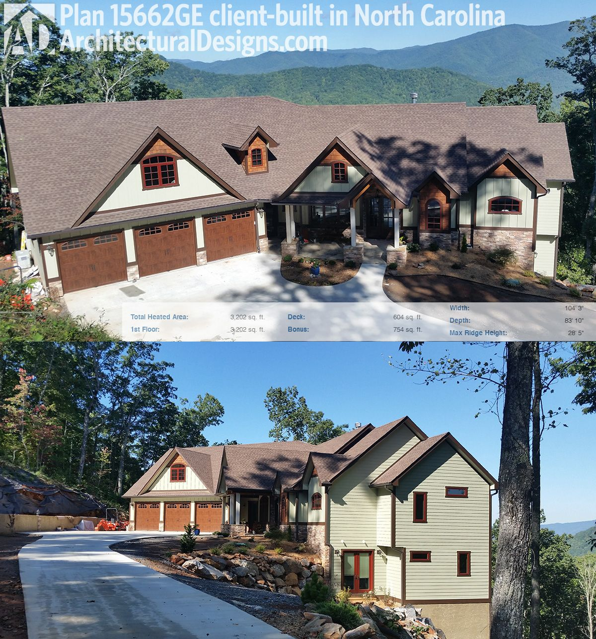Plan 15662ge best seller with many options craftsman for North carolina mountain house plans