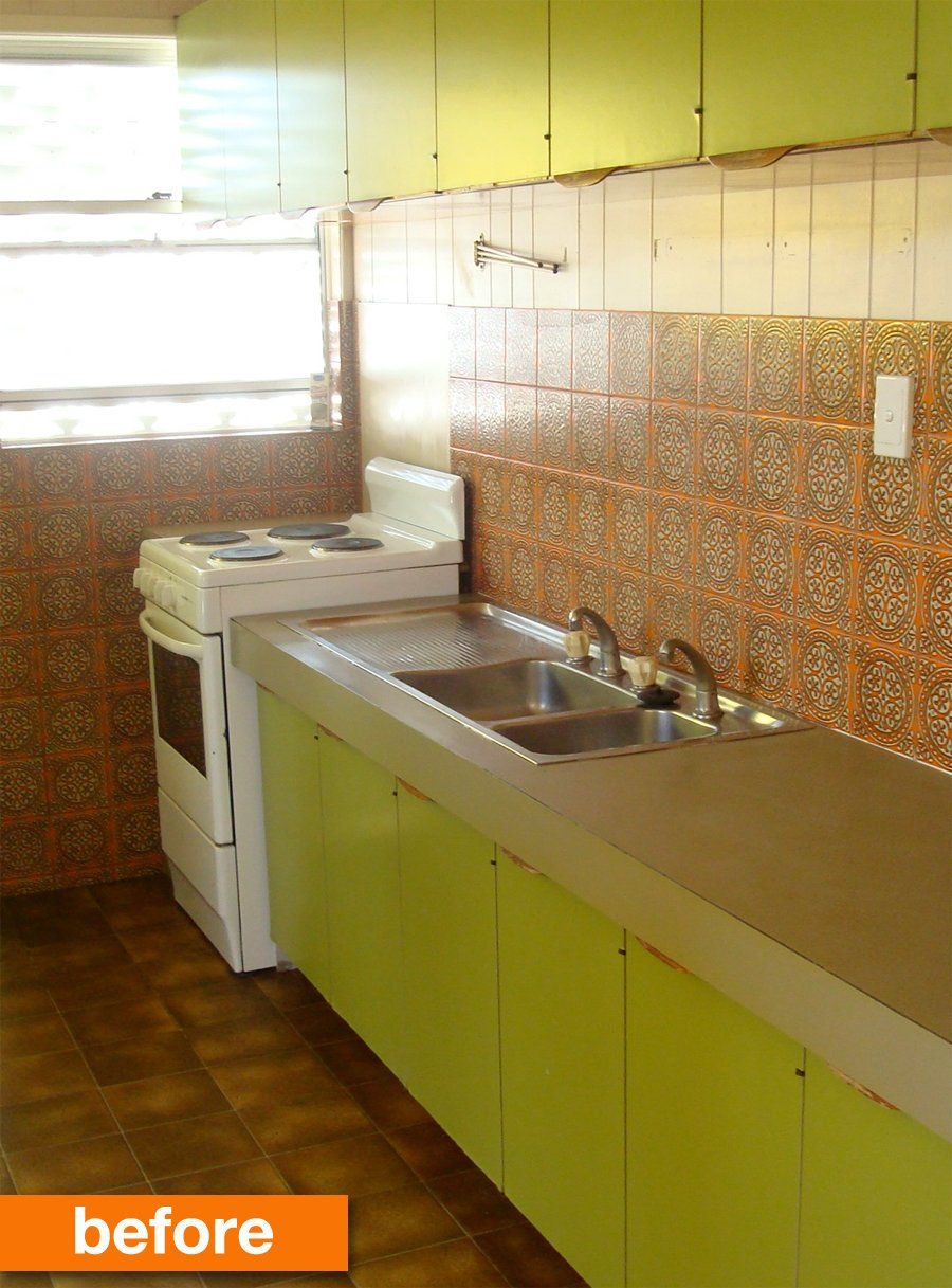 1960s Kitchen Remodel Before After: Before & After: From The 1960s To Today!