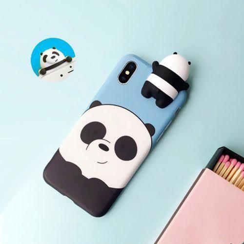 Case Funda Osos Escandalosos Iphone 6 6s 7 8 X 10 Bare Bears