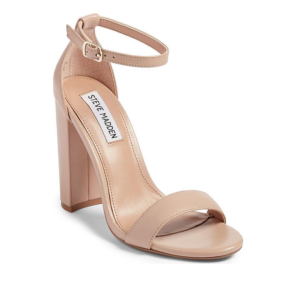 superior quality where can i buy utterly stylish Steve Madden Carrson Block-Heel Dress Sandal - 8686492 in ...