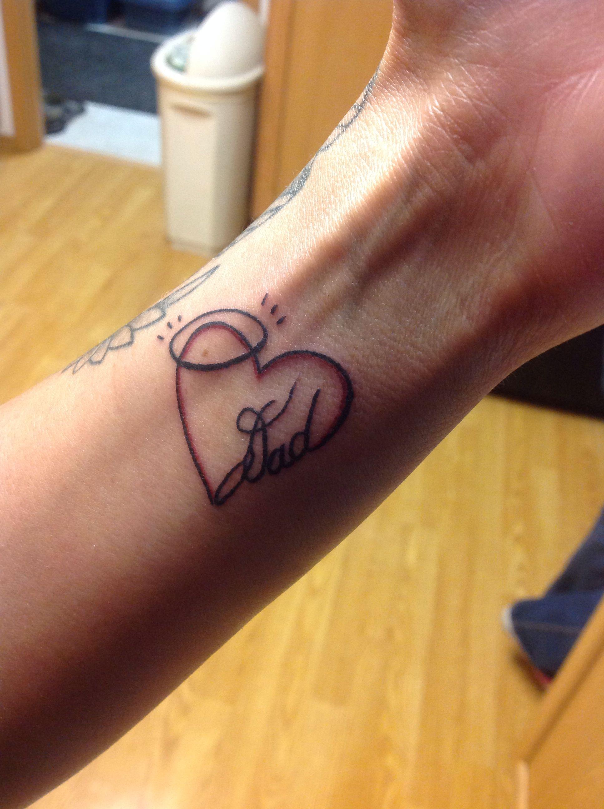 Memorial tattoo for my dad tattoos pinterest símbolos tattoo
