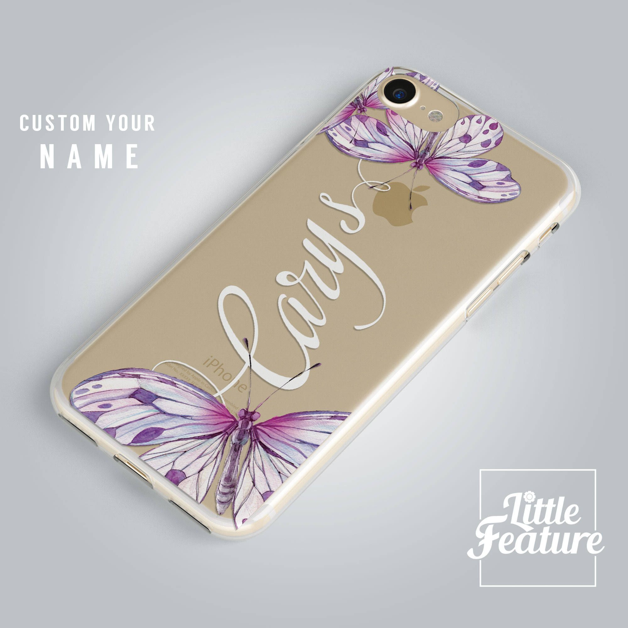 personalised iphone 7 cases purple