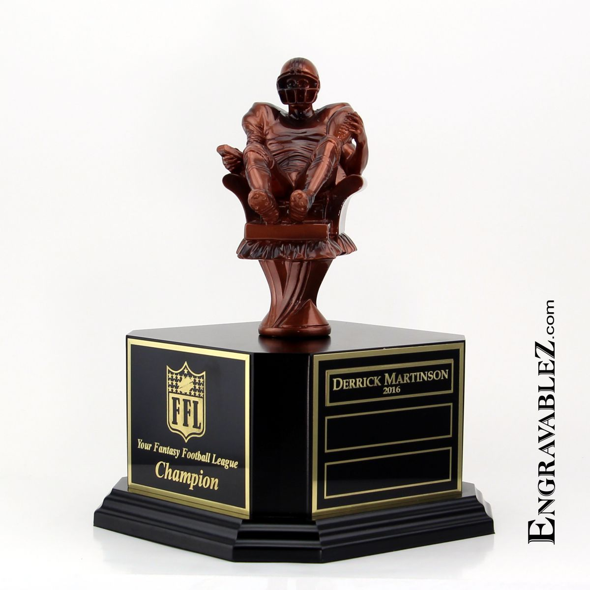 Armchair Quarterback Fantasy Football Trophy - Who doesn't ...