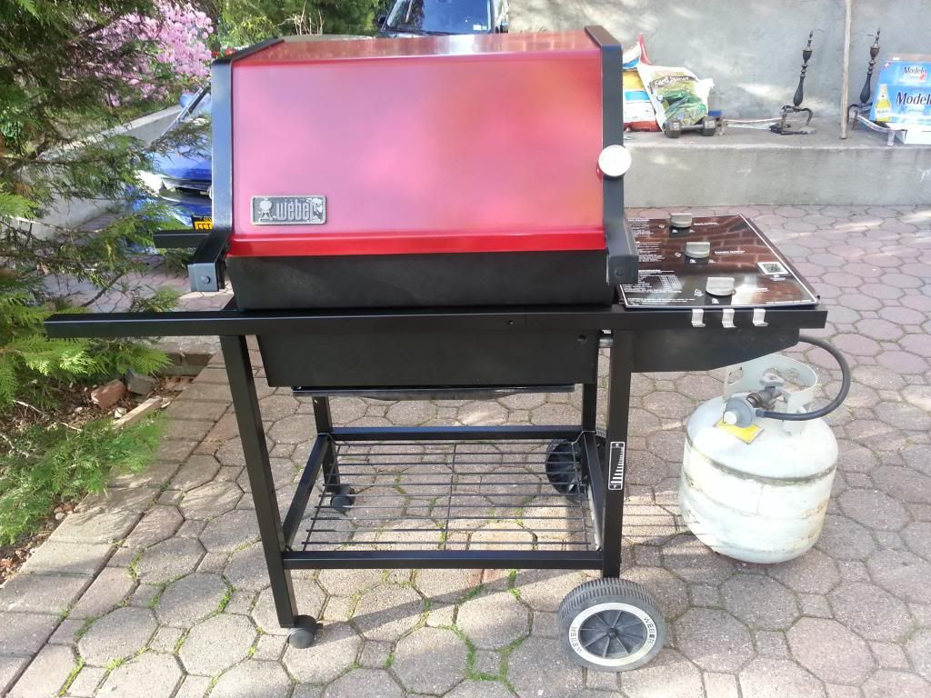 Close To Finished Weber Grill Gas Grill Grilling