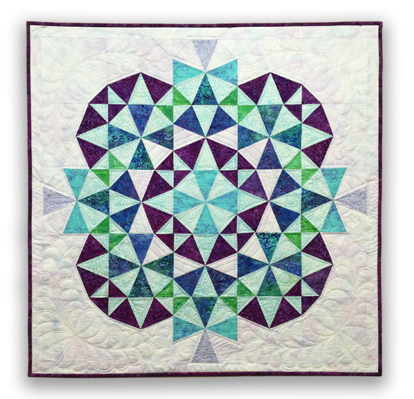 Kaleidoscope 2 Quilt Eleanor Burns Signature Quilt