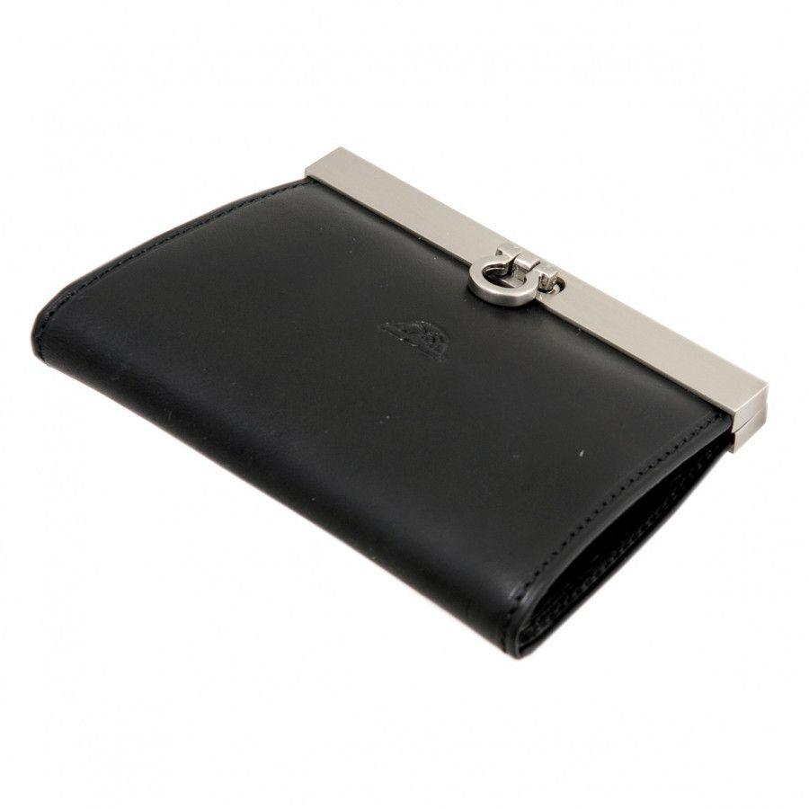 9fb817ae443 Tony Perotti Green Collection Leather slim frame coin purse | Tony ...
