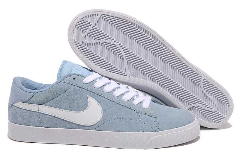 blue suede nike blazers low ac
