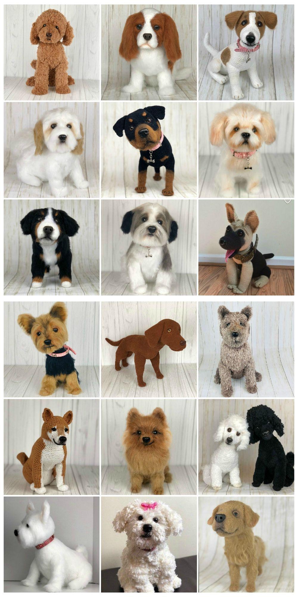 Dog Crochet Pattern Pinterest Top Pins - The WHOot
