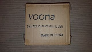 My Product Reviews and Thoughts: Voona Bright PIR Motion Sensor Security Light Revi...