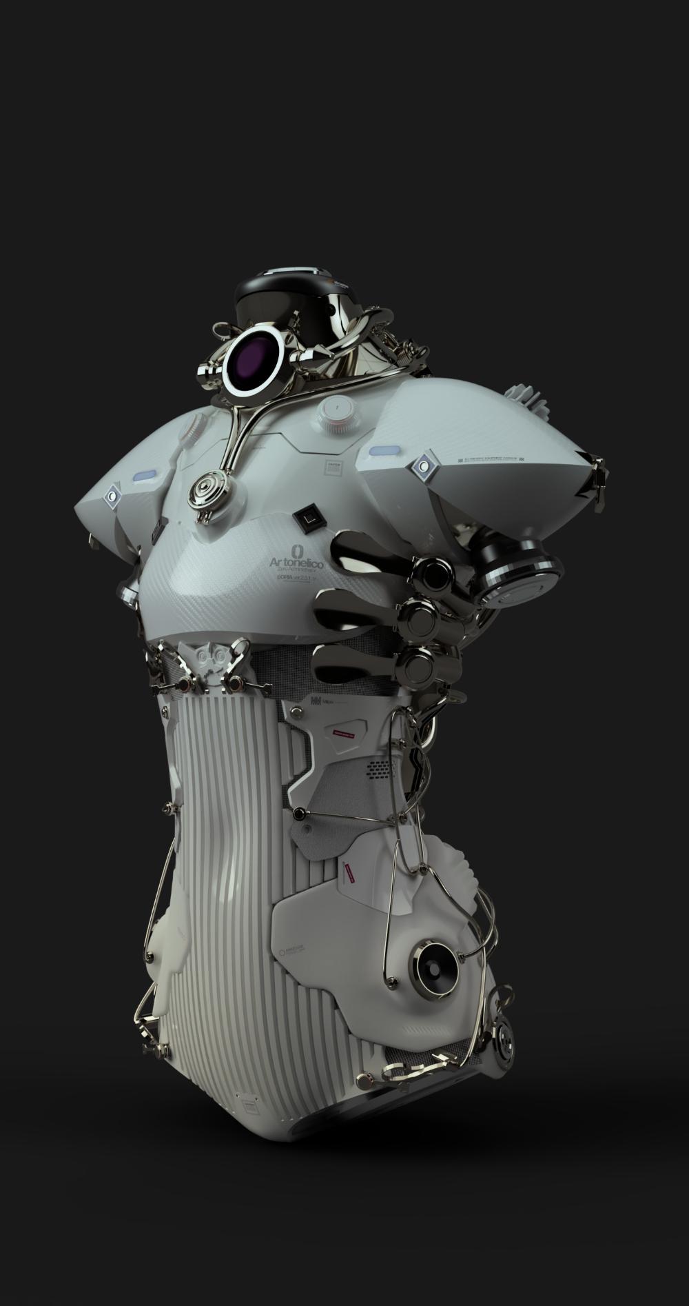 ArtStation Shurelia, Milpix ™ in 2020 Robot concept