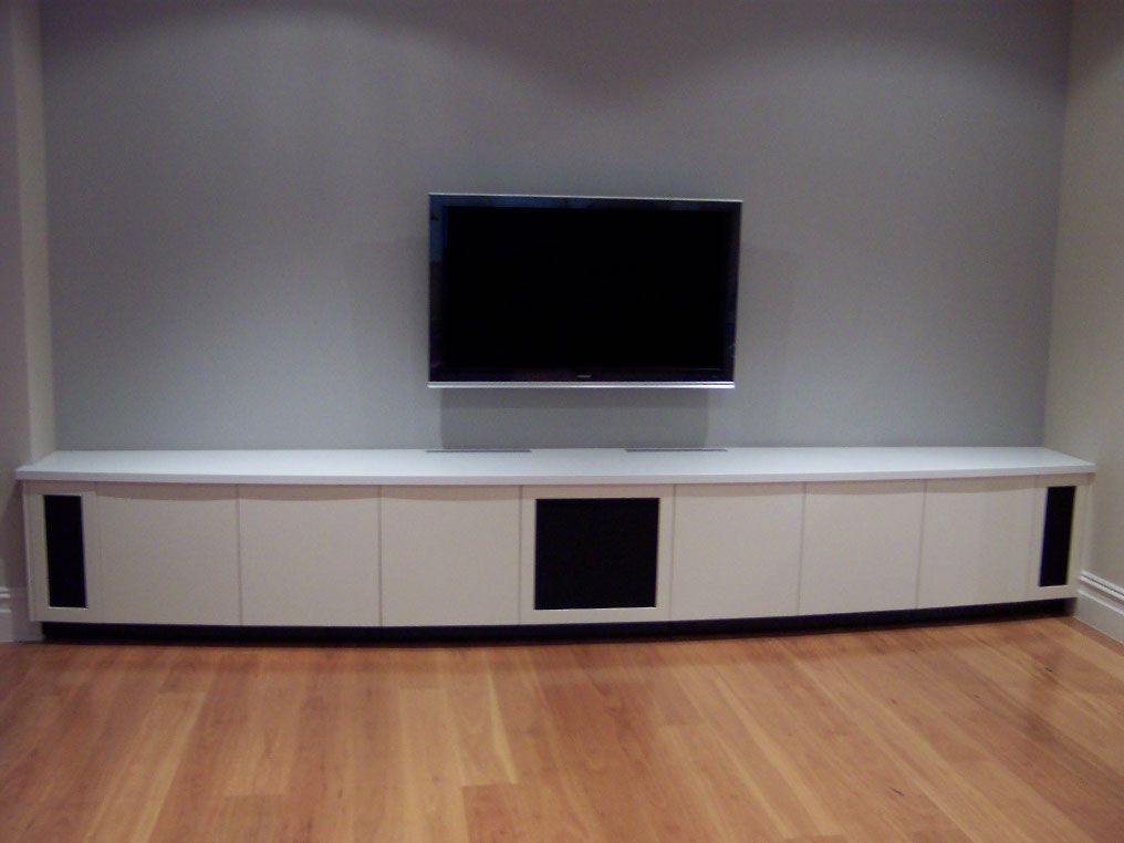 Lovely Home Theater Cabinet