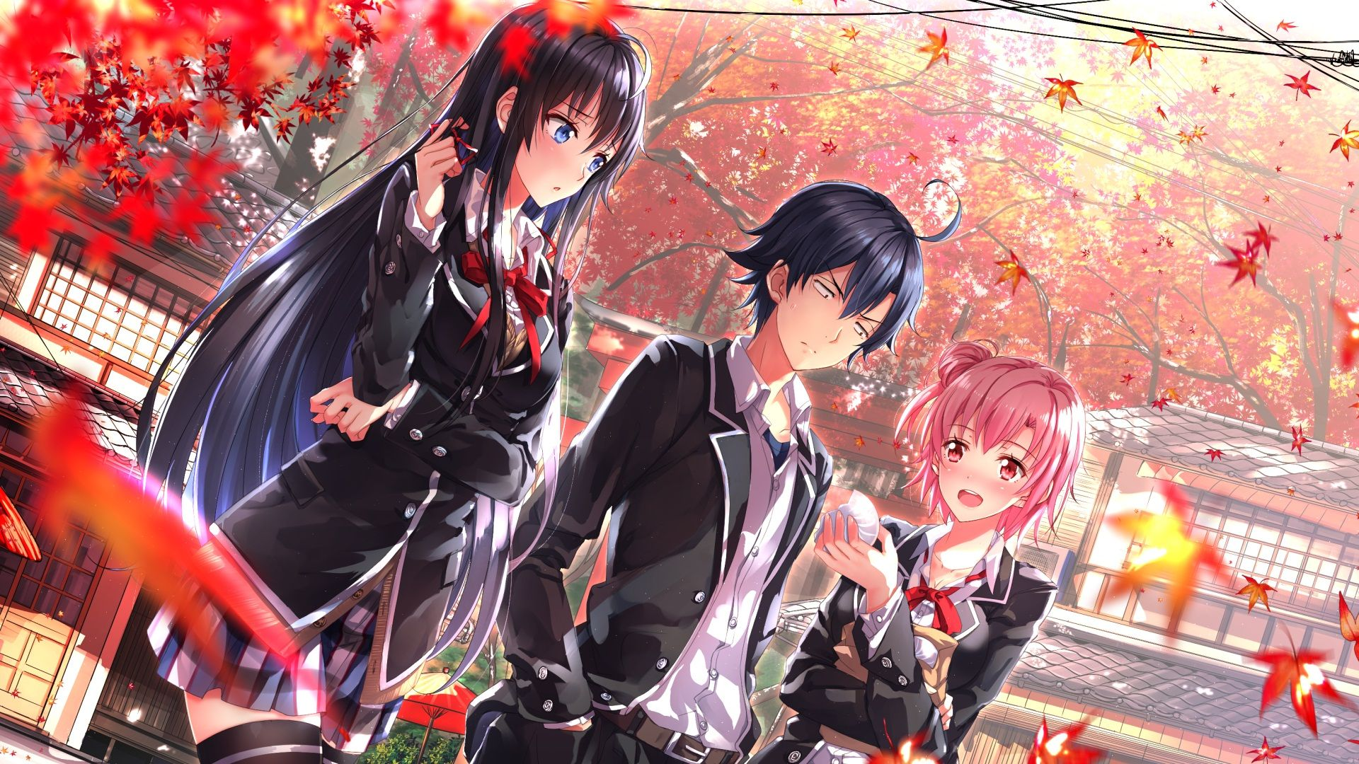 comedy Love Wallpaper : Yahari Ore no Seishun Love comedy wa Machigatteiru. Zoku Oregairu.Zoku Pinterest Anime