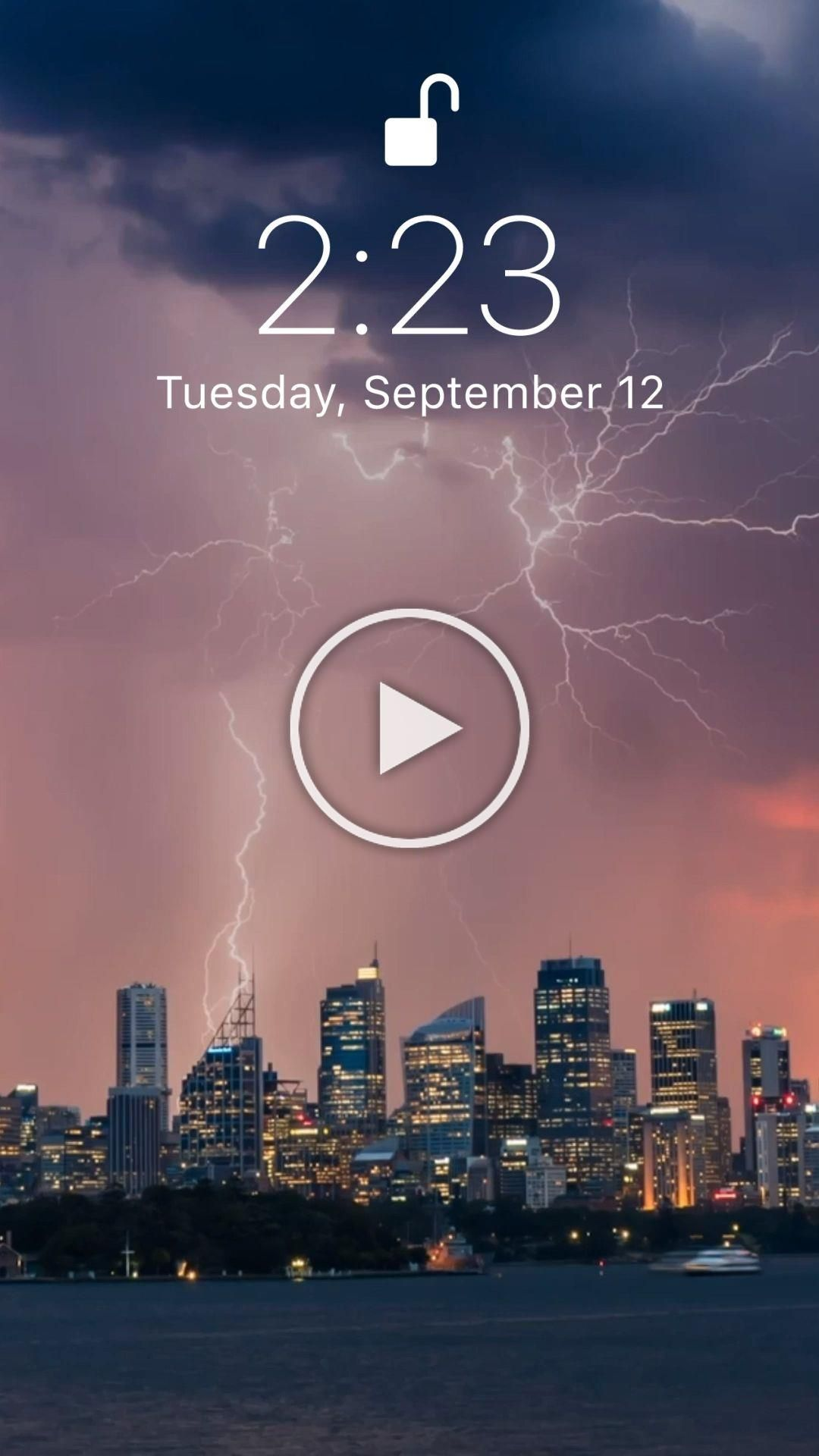 Live wallpaper for your iPhone XS from Everpix Live # ...