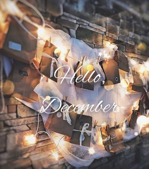 Hello December! Happy new month, everyone! Make this December to