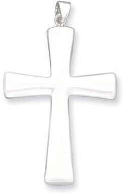 Sterling silver cross pendant classics pinterest sterling sterling silver cross pendant aloadofball Choice Image