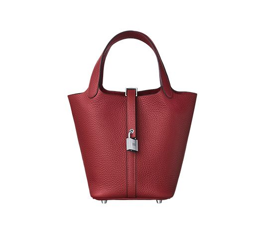 05b5a83f22de Picotin Lock 18 Hermes bag in taurillon Clemence leather (size PM) Measures  7