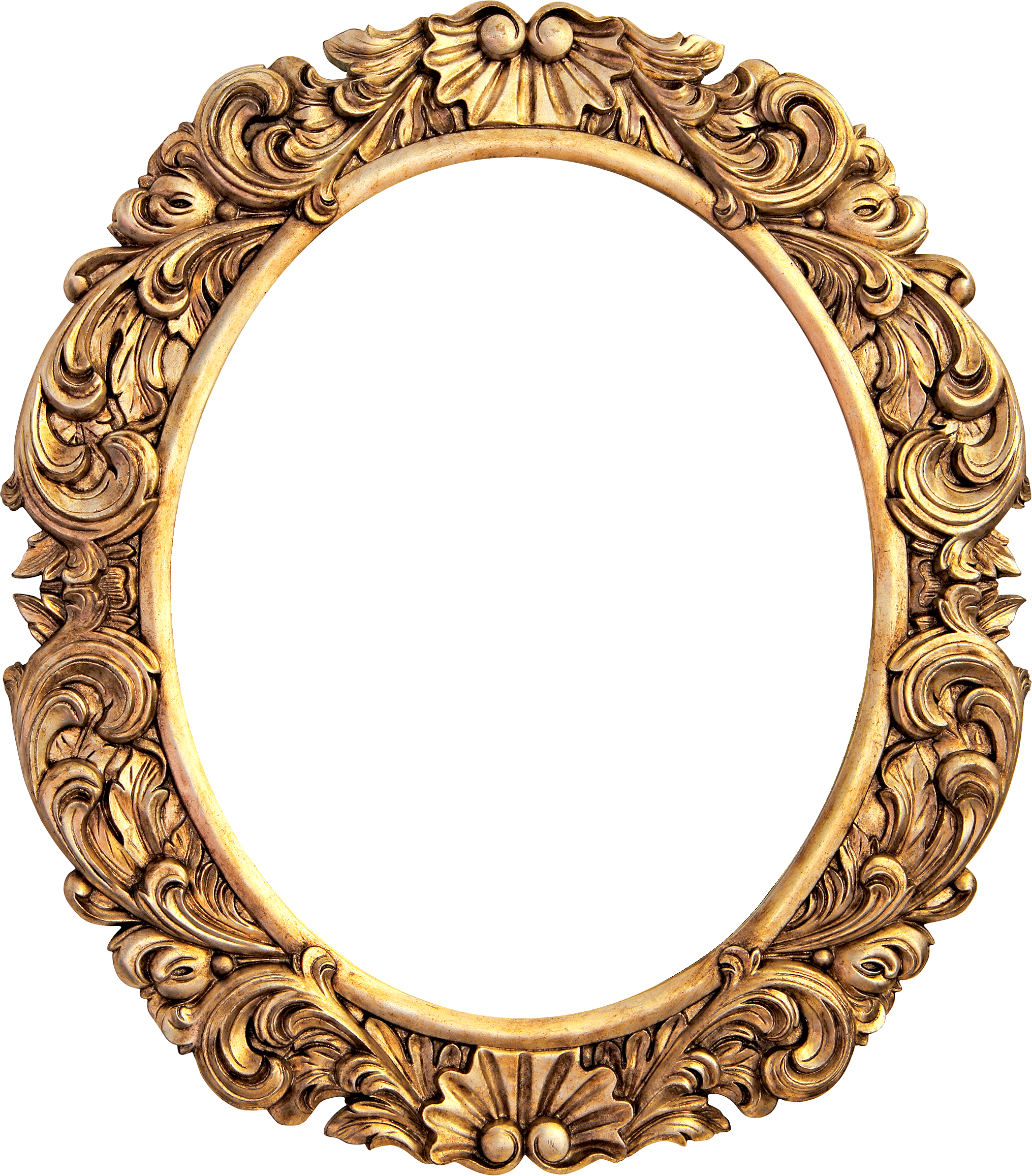 Рама овальная картинка