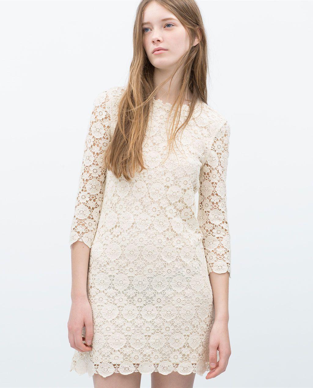 Zara Day Trf DressesDresses Vestido CrochetSummer rtxshdCQ