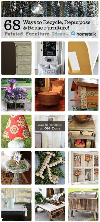 Recycle, Repurpose & Reuse Furniture :: Carrie @  {P.F.I.}'s clipboard on Hometalk