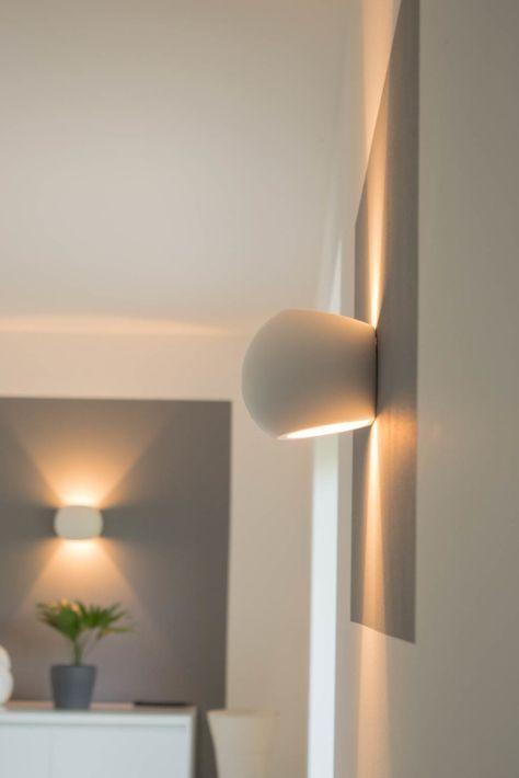 dimmbare led wandlampen unsere wandleuchten f rs wohnzimmer haus pinterest wandleuchte. Black Bedroom Furniture Sets. Home Design Ideas