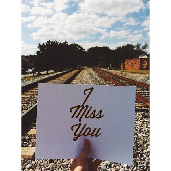 98 Instagram love notes! Clever idea.