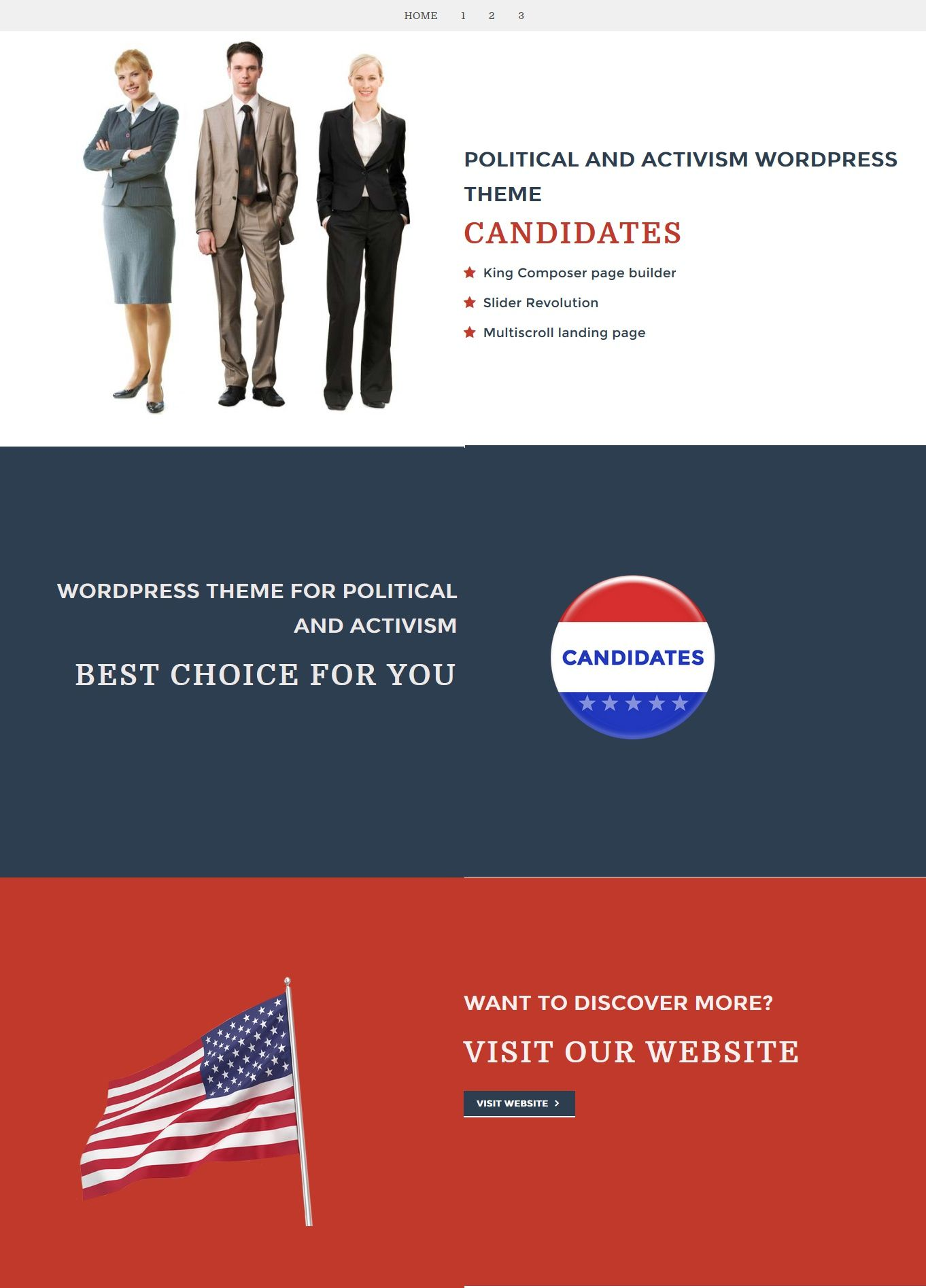 Candidates  Political And Activism Wordpress Theme  Wordpress