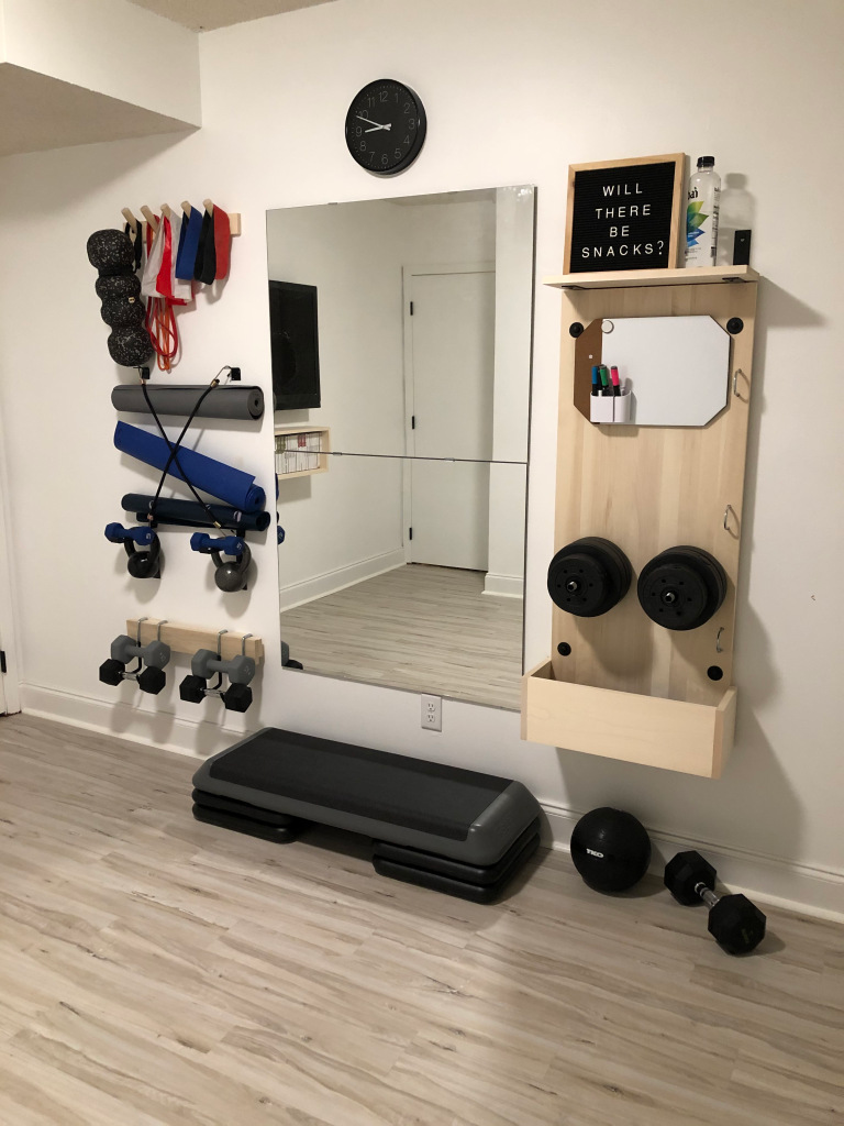 8 Awesome DIY Reader Home Gyms To Inspire You... And Us